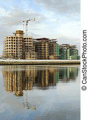 marina, construção, 02