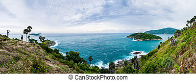 marina, di, phuket, tailandia