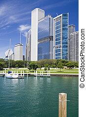 Marina in Chicago