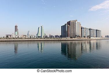 Marina in Manama, Kingdom of Bahrain, Middle East