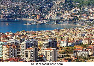 Marina in Turkey