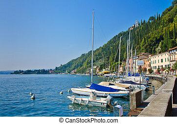marina, itália, iates