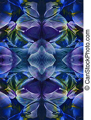 Marina, navy peony, blue, indigo watercolor texture background, brush strokes, encaustics wax made. Water color look.
