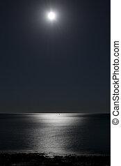 marina, notte