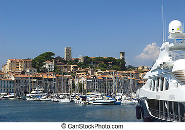 marina, port, cannes