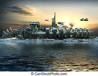 marina- stadt, zukunftsidee