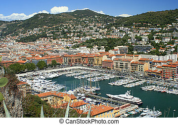marina - boat marina in Nice, France