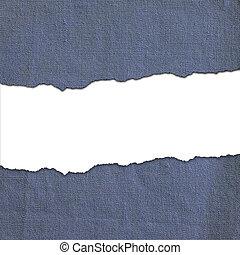marina, tela, rayas, con, blanco, texto, espacio