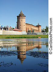 Marina tower of Kolomna Kremlin, Russia