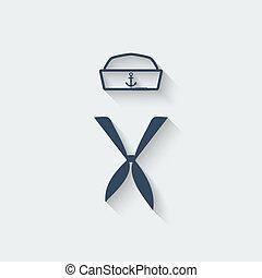 marinaio, abbigliamento