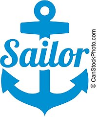 marinaio, ancorare