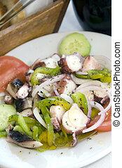 marinated octopus salad greece