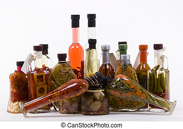 Marinated Products Allsort - Marinated products in bottles...