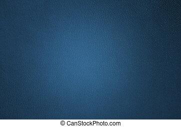 marinblått, läder