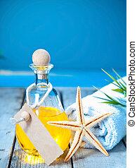 Marine aromatherapy spa treatment
