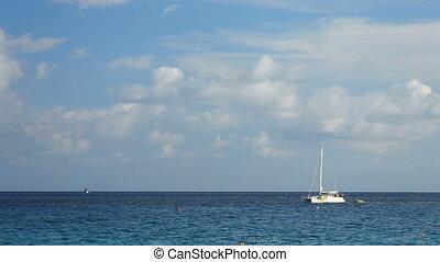 marine, catamaran