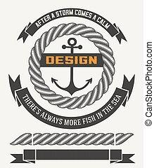 Marine design with elements