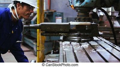 Marine engineer using machinery 4k - Marine engineer using ...