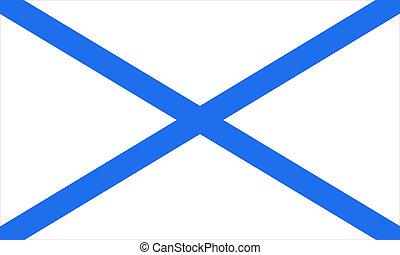 marine flag - symbolic navy flag