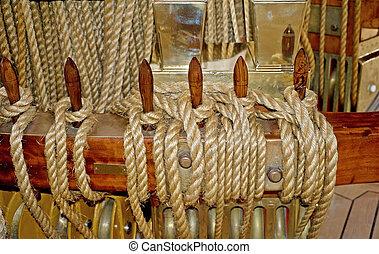 marine knot detail