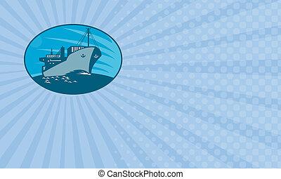 Marine Logistics Business card