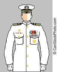 marine, officier