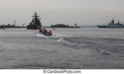 marine patrol - HD1080:  Military Naval Base
