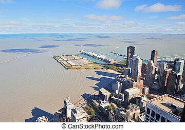 marine pier, chicago