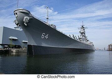 marine, schiff
