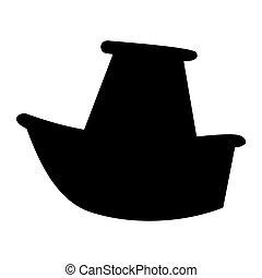 Marine ship icon
