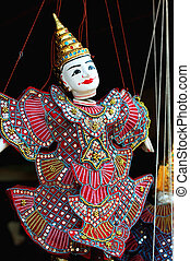 marionnette, cambodge, angkor