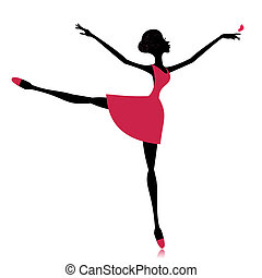 mariposa, bailarín elegante
