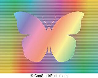 mariposa, espectro