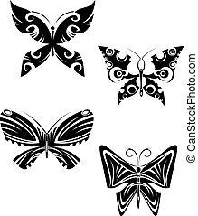mariposa, tatuajes