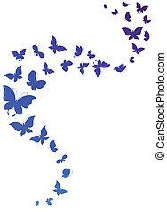 mariposas, diseño