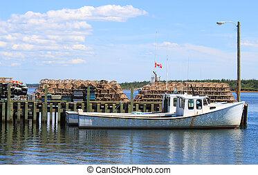 Maritime fishing boat