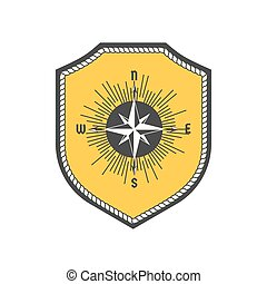 Maritime heraldic emblem