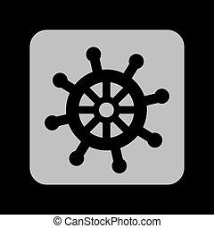 maritime icon design, vector illustration eps10 graphic
