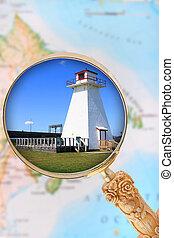 Maritime Provinces lighthouse