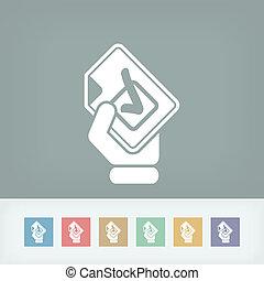 Mark choice icon
