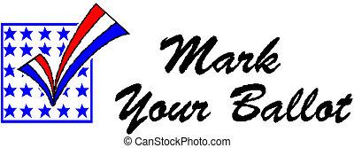 mark your ballot