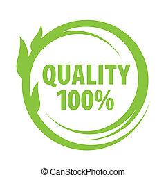 marka, od, wystający, jakość