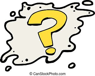 marka, pytanie, żółty, ikona