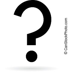 marka, pytanie, ikona