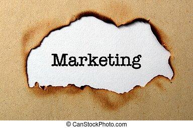 markedsføring