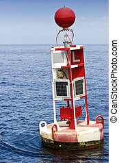 Marker Bouy - An ocean marker bouy leading the way to the ...