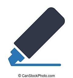 marker  glyph color icon