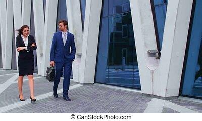 market., businesspersons, financieel, zakenkantoor, zeker,...