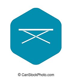 Market counter icon, simple style