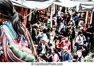 Market in Chichicastenango (Guatemala)